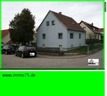 freistehendes Einfamilienhaus mit Garten und Garage, 75217 Birkenfeld, Einfamilienhaus