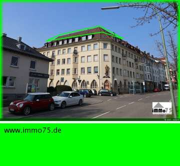 lichtdurchflutet über den Dächern von Pforzheim, 75177 Pforzheim, Dachgeschosswohnung